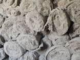 Иглопробивное волокно (льяной ватин) длина 20 м/п ширина 160 см - фото 1