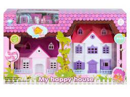 """Игровой набор """"Мой счастливый дом"""" 2 домика"""