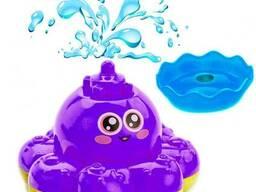 Игрушка детская для ванны «Фонтан-Осьминожка»