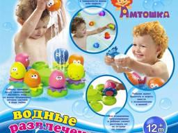 Игрушка для ванной «Весёлые Осьминожки»