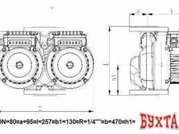 IMP Pumps GHNDbasic II 80-120F PN10