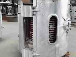 Индукционные плавильные печи в алюминиевом корпусе