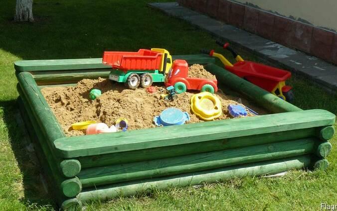 Изделия для детских площадок