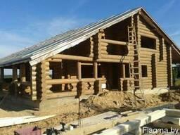 Изготовим и установим в кратчайшие сроки срубы домов, бань..