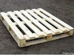 Изготовим на заказ деревянные поддоны по размерам заказчика.