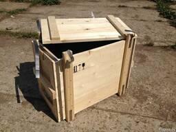 Изготовление деревянных ящиков любого размера.