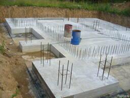 Выполним бетонные работы по фундаменту