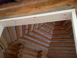Изготовление Окосячки в деревянном доме