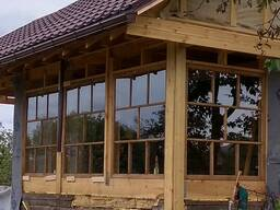 Изготовление простых деревянных окон под заказ