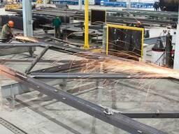 Изготовление всех видов металлоконструкций