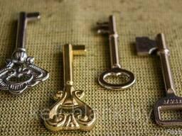 Изготовлению дубликатов декоративных ключей