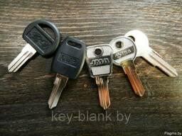 Изготовлению дубликатов мебельных ключей (почтовый ящик. ..