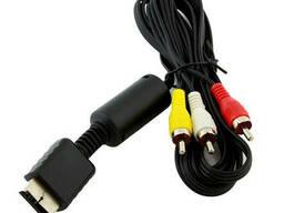 Кабель AV для подключения приставки к телевизору PS2 PS3 SiPL PSP28