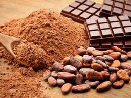 Какао порошок натуральный (25кг), Украина