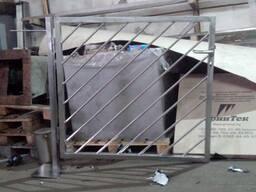 Калитка и ворота из нержавеющей стали, задвижка, заслонка из нерж