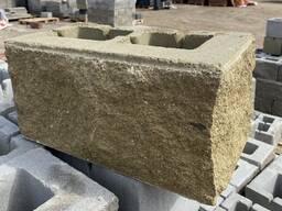 Камень декоративный угловой ломанный