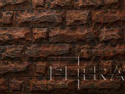 Камень из бетона - Карфаген. Красное дерево 03К2