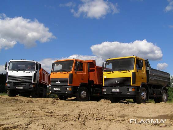 Камень, песок, ПГС, гравий, щебень, смесь с5 и с12, грунт, навоз и тп.