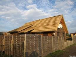 Камышовая крыша (декор)