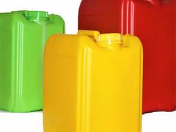 Пластиковая канистра для пищевых и технических жидкостей любого размера и объема