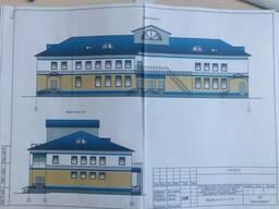 Капитальное строение с производственно-бытовыми помещениями