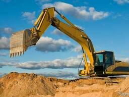 Карьерный песок, речной песок. Доставка песка по Витебску!