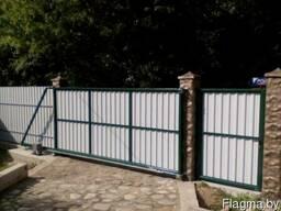 Каркас для откатных ворот в Могилёве. Точно, прочно на долго