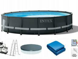 Каркасный бассейн Intex Ultra Frame / 26326NP (488x122)