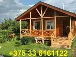 Каркасный дом для сезонного проживания