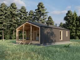 Каркасный дом, энергосберегающий.
