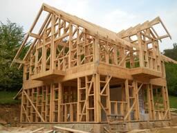 Каркасный дом. Строительство коркасно щитового дома под ключ