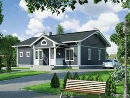 Каркасные дома под ключ, деревянный дом цена.