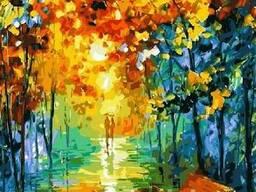 Картина по номерам 30х40 Осенний парк KTL101