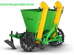 Картофелесажалка Kerland CT2 двухрядная для мини-трактора