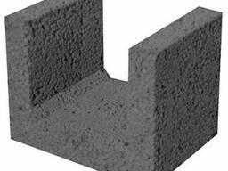Керамзитобетонные блоки для перемычек 300 мм шириной