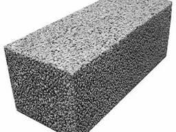 Керамзитобетонные блоки полнотелые 200 и 250 мм шириной