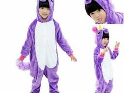 Кигуруми Фиолетовый Единорог детский