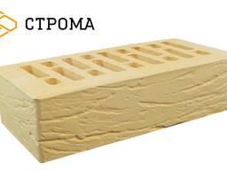 Кирпич керамический пустотелый одинарный Солома Рустик 1НФ М