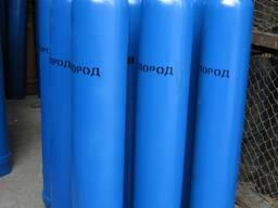 Кислород газообразный технический сжатый (40л, 6, 4 м3)