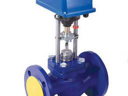 Клапан проходной седельный регулир. ВКСР с электроприводом