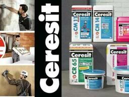 Клеи для плитки Ceresit