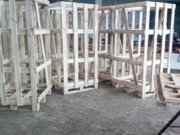 Изготовление клетей для дров RM
