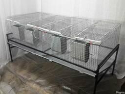 Клетка для кроликов ТК4-1