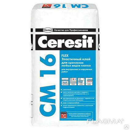 Клей для плитки Ceresit CM 16