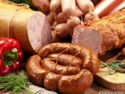Колбасы и мясную продукцию белорусских мясокомбинатов