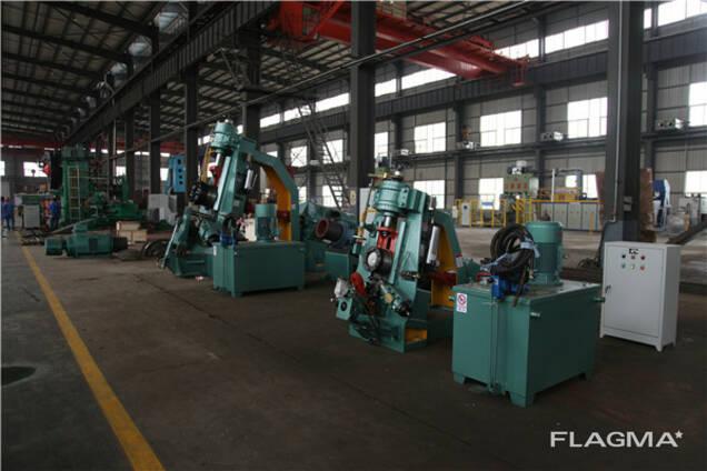 Кольцераскатный стан для производства фланцев из Китая