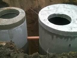 Труба для канализации, водоснабжения, люки для колодцев