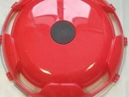 Колпак на диск колеса R-22,5 передний пластиковый цвет красный на Грузовые АВТО
