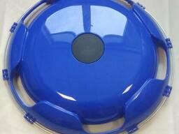 Колпак на диск колеса R-22,5 передний пластиковый цвет синий на Грузовые АВТО