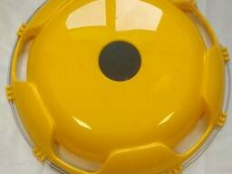 Колпак на диск колеса R-22,5 передний пластиковый цвет желтый на Грузовые АВТО